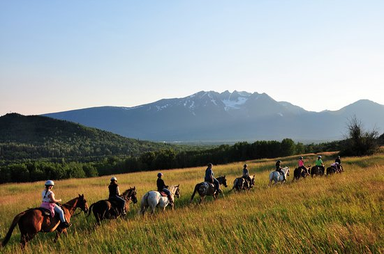 Smithers, Canada: Ride above the beautiful Bulkley Valley
