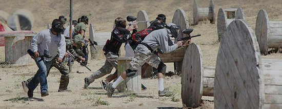 Округ Дэвис, Юта: Traditional paintball rental players - Beginner players only play against other beginner players