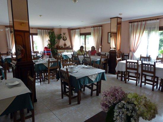 Lamason, Spanien: I restaurangen på andra våningen