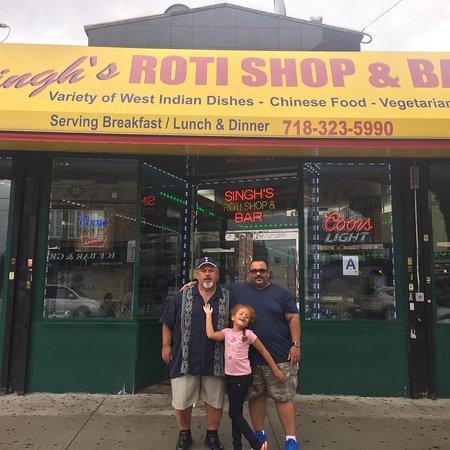 Richmond Hill, NY: Singh's Roti Shop & Bar