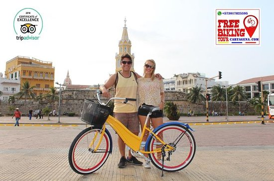 Tour en bicicleta gratis Cartagena