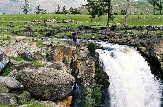 Amazing Tour zum Orkhon Wasserfall...