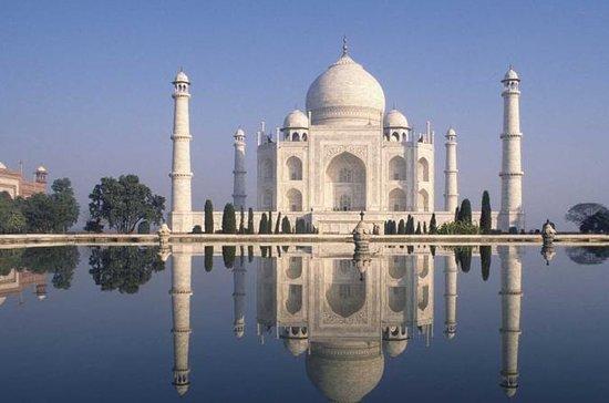 Privat Agra Tour av Gatimaan Tog besøk...