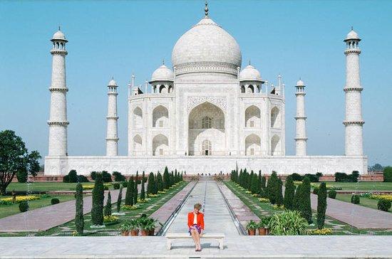 Same Day Taj Mahal Tour en coche desde...