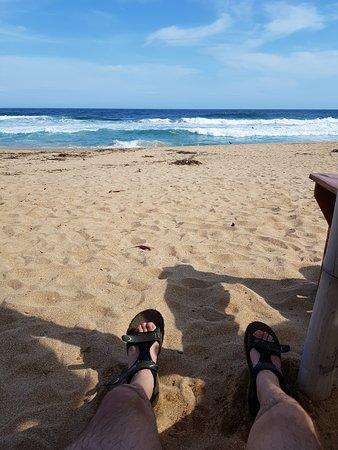 Playa Zipolite: Desde el hotel nude