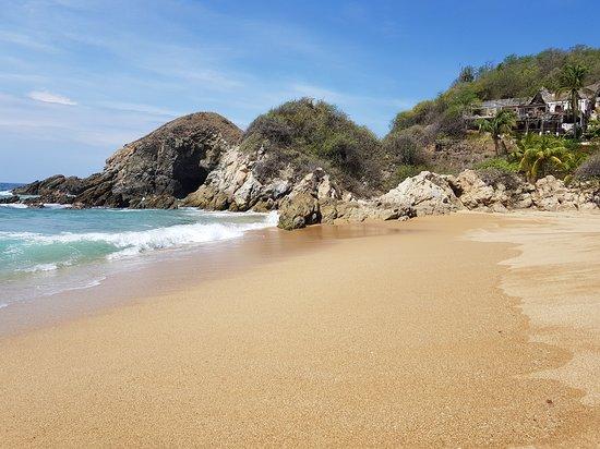 Playa Zipolite: Hacia donde termina la playa nudista en zipolite