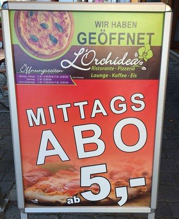 Vilshofen, Germany: Ristaurante Pizzeria L'Orchidea