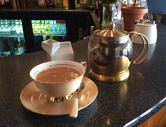 Malton, UK: The perfect cup of tea!