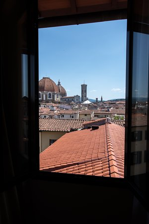 Hotel Ester: View from window room 23