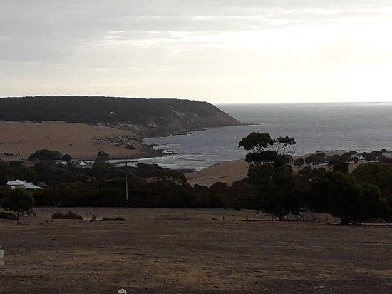 Stokes Bay, Australia: vue du restaurant