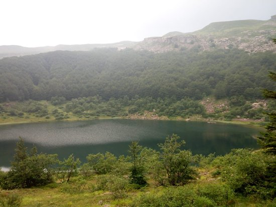 Monchio delle Corti, Italië: Lago Verde m.1507