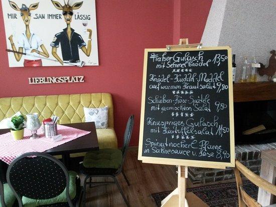 Herzogenrath, Γερμανία: Österreichs Küche in Merkstein