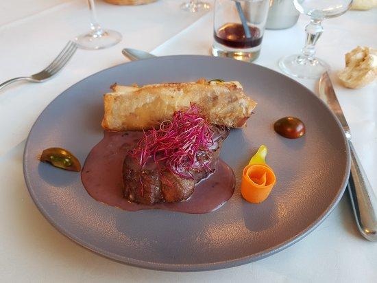 Gimont, فرنسا: plat pavé de veau