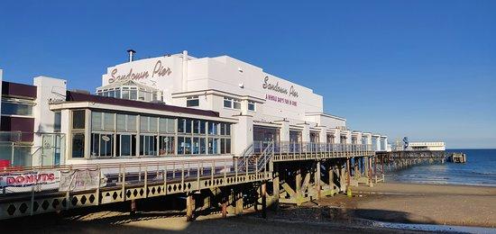 Sandown Pier: pier