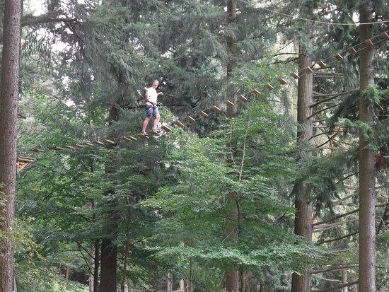 Echassieres, Γαλλία: Sky ladder