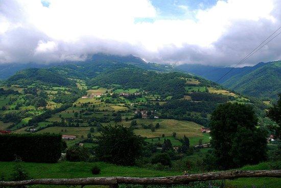 Quiros Municipality, Spain: Vistas desde la habitación