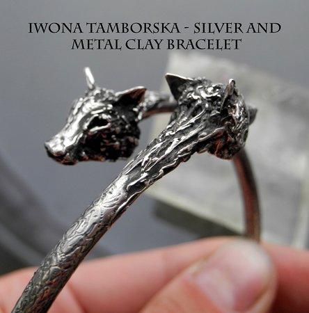 Сент-Остелл, UK: Iwona Tamborska - Silver and Metal Clay Bracelet Class October 2018