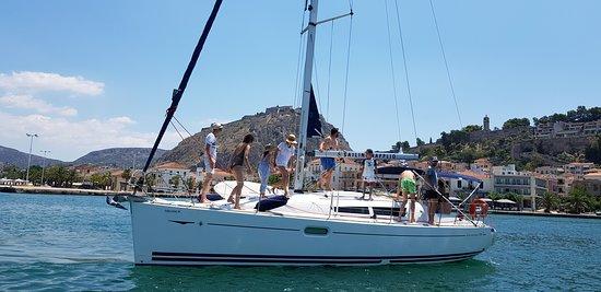 Sailing Nafplio 'Thelmagic'