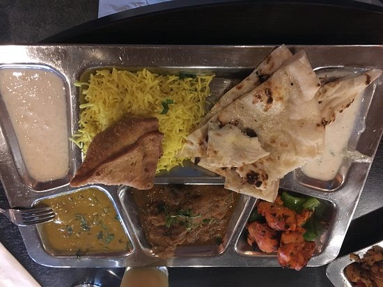 Maurya's Fine Indian Cuisine: Meat Thali
