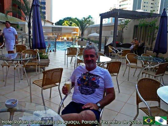 Hotel Rafain Centro: Drink cortesia de boas vindas