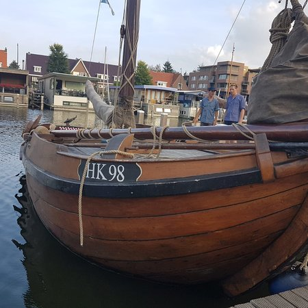 Botters in de haven