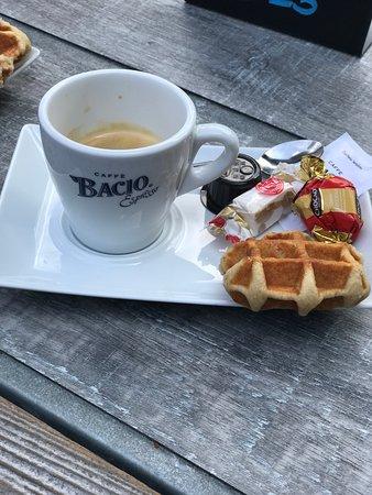 Pergola Kaffee Foto