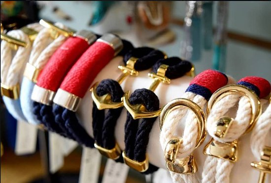 New Baltimore, MI: On The Bay Customs offers a variety of hand made nautical jewelry.