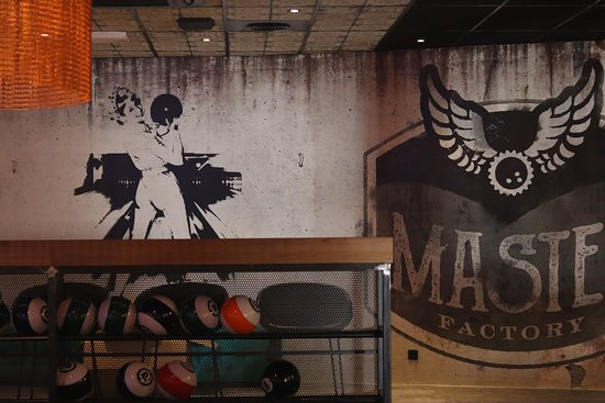Bowling le Master factory: ACCUEIL BOWLING