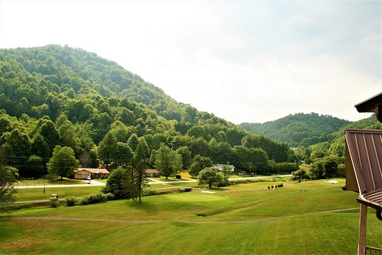 Vilas, NC: A view of the valley looking northwest