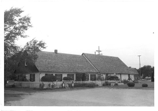 Hillsboro, KS: Adobe House as it appeared in 1972 application for National Reigster of Historic Places.