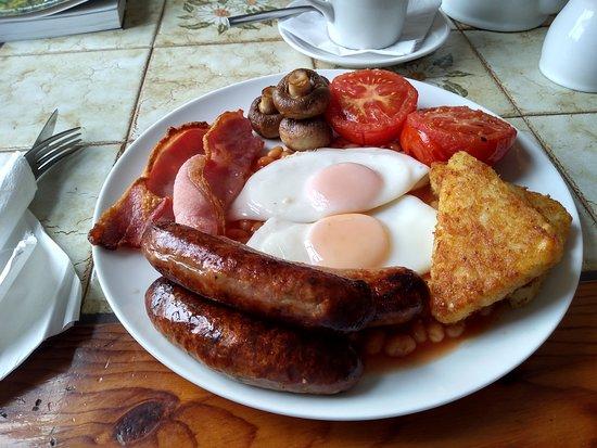 Trefin, UK: Best breakfast in Wales?