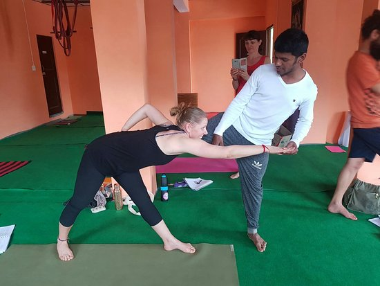 Yoga with Raj: Alignments and adjustments class