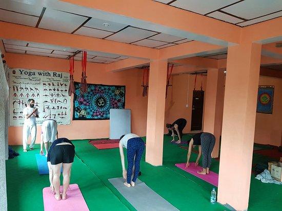 Ashtanga yoga with Raj