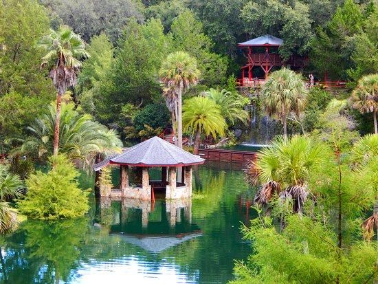 overlooking garden. - Picture of Cedar Lakes Woods And Gardens ...