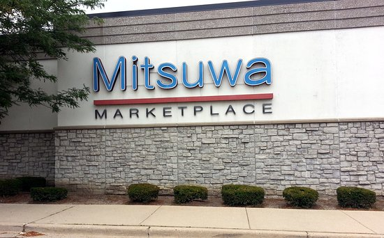 front sign for Mitsuwa Marketplace