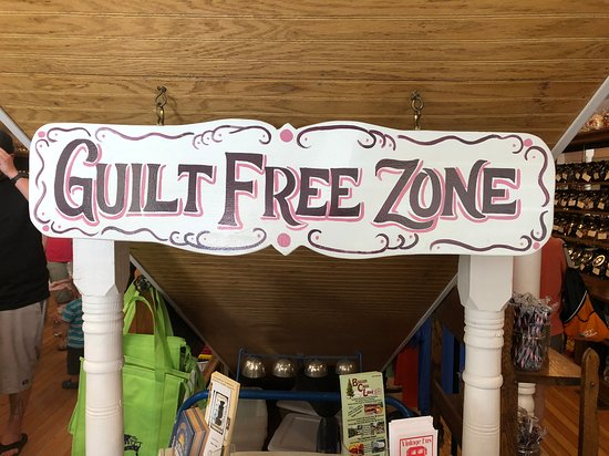 Philipsburg, Montana: sign inside the building