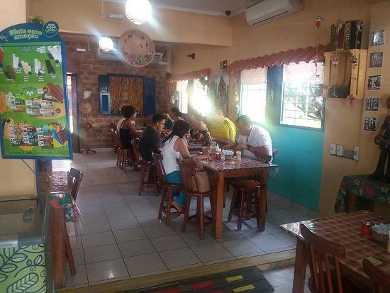 Casa De Tonho Sabores Regionais: Ambiente interno