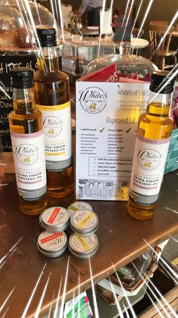Whites of Old Cantley pure rapeseed oils