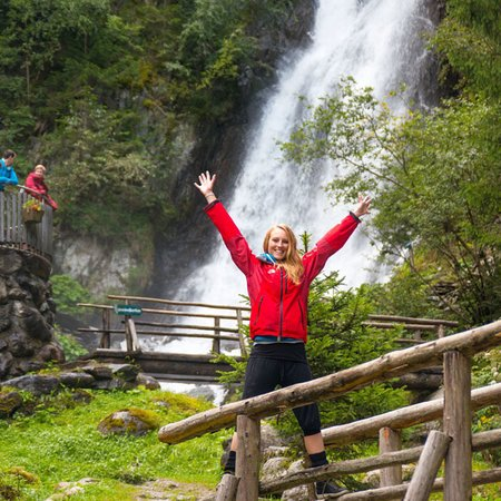 Grosskirchheim, Austria: Gartl Wasserfall