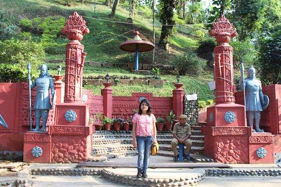 Agnigarh Hill: entrance of Agnigarh