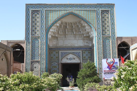 Qazvin, Iran: Main entrance
