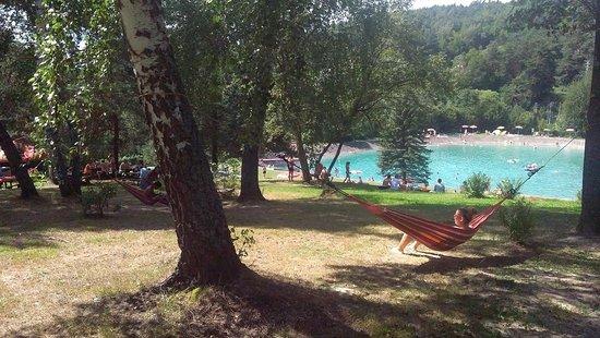 Bardejov, Slovakia: Letné kúpalisko Makovica - oddych a relax v lese, pri vode.
