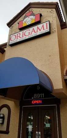 Origami Korean Japanese Restaurant menu in Fort Myers, Florida | 450x219
