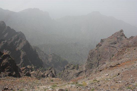 Santa Cruz de la Palma, Spagna: Vista de la Caldera de TAburiente desde el Mirador