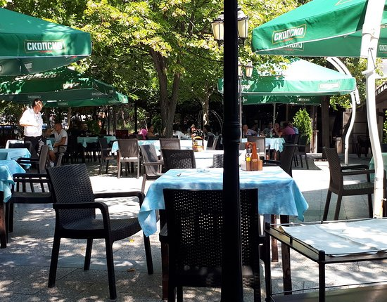 Shtip, Makedonia: Terrace