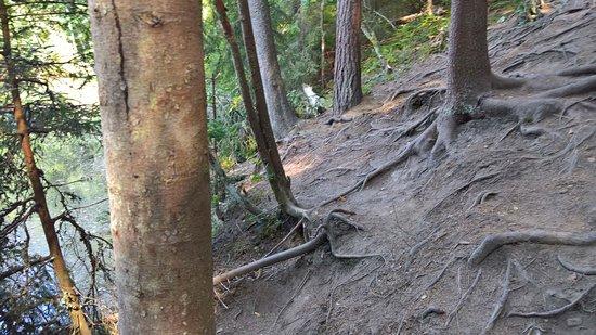 Hollola, Finland: Erosion by the area