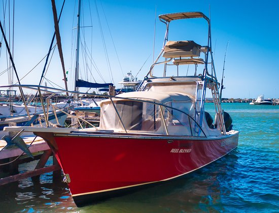 Progreso, Mexico: Our 30' Dorado named 'Reel Blessed'. Built in 2016 • Fully Equipped • Includes Head and Flybridg