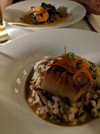 Providence Oyster Bar: Chilean sea bass and cod dishes
