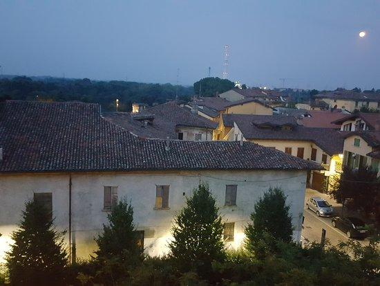 Cassano d'Adda, Italie: Suggestivo borgo visto dalla stanza