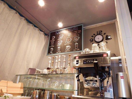 LunsjKafe: coffee meny